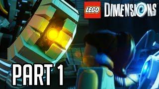 getlinkyoutube.com-LEGO Dimensions Portal Gameplay Walkthrough Part 1 - GLADOS & WHEATLEY!! (LEGO Portal 2 Level Pack)