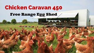 getlinkyoutube.com-Chicken Caravan 450 Free range Egg shed