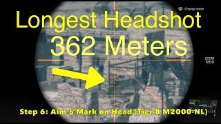 getlinkyoutube.com-MGSV: Phantom Pain - Longest Headshot Sniper Shot (Metal Gear Solid 5 Secrets: Part 66)