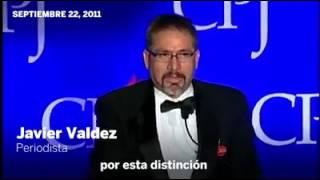 Javier Valdez y su duro discurso antinarco