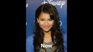 getlinkyoutube.com-Disney Stars Now and Then