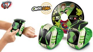 BEN 10 OMNIVERSE Omni-Link Omnitrix Watch Unboxing Video By Toy Review TV