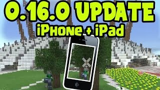 getlinkyoutube.com-MCPE 0.16.0 iOS RELEASE DATE DELAY? Minecraft Pocket Edition 0.16.0 - iPhone, iPad, iOS Release Date