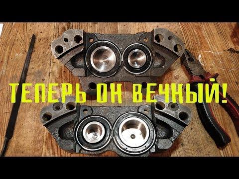 Реставрация суппорта Москвич 412