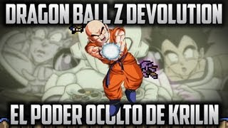 getlinkyoutube.com-Dragon Ball Z Devolution - EL PODER OCULTO DE KRILIN