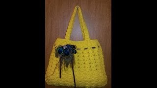 getlinkyoutube.com-CROCHET How to #Crochet handbag Purse #TUTORIAL #63 LEARN CROCHET