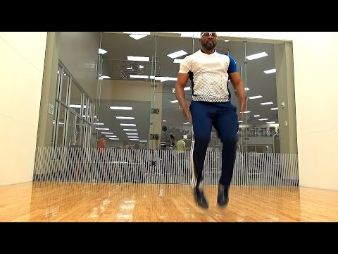 RACQUETBALL TRAINING EXERSCISE PART 2