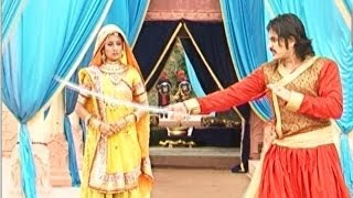 getlinkyoutube.com-Jodha Akbar : Akbar faces trouble shooting a sword scene | UNCUT