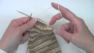 getlinkyoutube.com-Heel Flap & Gusset - Tutorial - Knitting Blooms