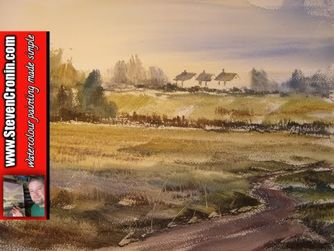 How to create a simple watercolour impression from a photograph