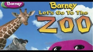 getlinkyoutube.com-Barney - Let's Go To The Zoo