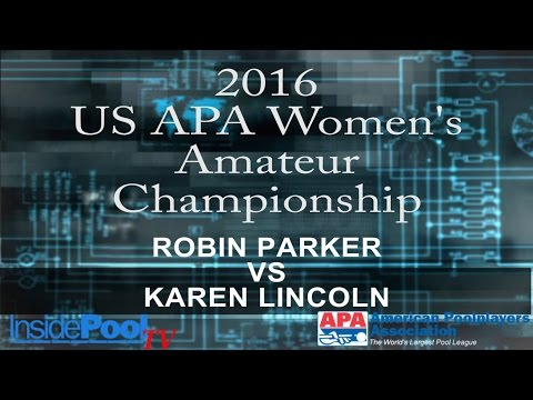 2016 U S  APA Womens Amateur Championship Robin Parker vs Karen Lincoln