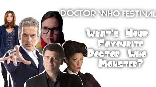 getlinkyoutube.com-Doctor Who Festival 2015 - Meeting the Cast: What Is Your Favourite Monster?