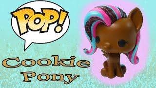 getlinkyoutube.com-DIY Custom POP Vinyl My Little Pony MLP Fluttershy Painted Chocolate Cookie Glitter Toy Cookieswirlc