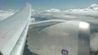 getlinkyoutube.com-Thomson Airways Boeing 787-8 Dreamliner - Gatwick to Orlando Sanford - takeoff and landing | TOM070