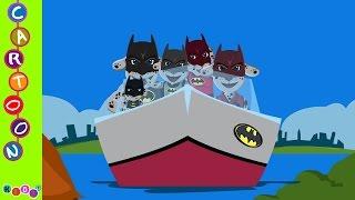 getlinkyoutube.com-Paw Patrol Marshall Mutant Human Batman Finger Family Nursery Rhymes ◕‿◕ KidsF