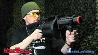 getlinkyoutube.com-ICS GLM Multiple Green Gas Airsoft Grenade Launcher