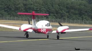 getlinkyoutube.com-*Waving pilots* Air Berlin Piper PA-44-180 Seminole at Münster/Osnabrück Airport [HD]