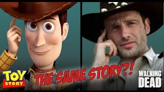 """The Walking Dead"" vs. ""Toy Story"" Comparison"