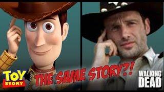 """getlinkyoutube.com-""""The Walking Dead"""" vs. """"Toy Story"""" Comparison"""