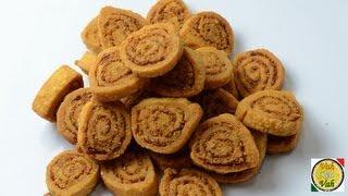 getlinkyoutube.com-Easy Simple Indian Snack Bhakarwadi Recipe - By Vahchef @ vahrehvah.com