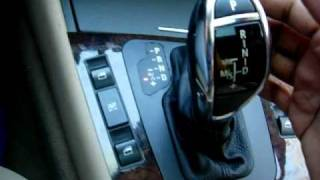 getlinkyoutube.com-Upgrading your prefacelift BMW E46 to have a DCT Steptronic Knob and DCT M shift pattern