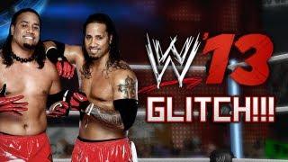 WWE 13 - USOS GLITCH!!! (WWE 13 Crab Dance)