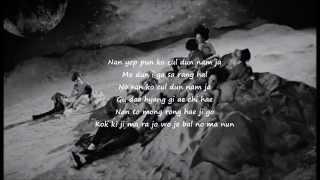 Big Bang - Bae Bae (easy lyrics)