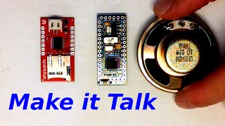 getlinkyoutube.com-How to Make Things Talk - Arduino plus Sound Module WTV020SD