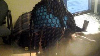 getlinkyoutube.com-Wig Tutorial ( Crocheted Havana twists)
