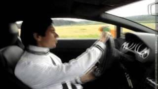 getlinkyoutube.com-ランボルギーニ ガヤルドドリフト対決! 中谷明彦vsインストラクター