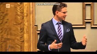 getlinkyoutube.com-Timo Soini ja Jyrki Katainen väittelevät Euroopan unionista