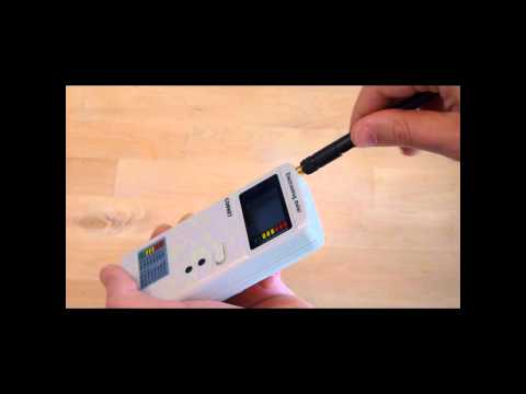 CORNET ED85 RF EMF/EMR meter (for home use) video review