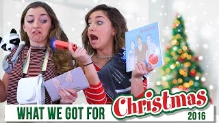 getlinkyoutube.com-WHAT I GOT FOR CHRISTMAS 2016  | Brooklyn and Bailey