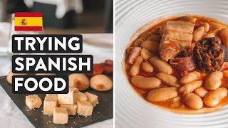 Is Spanish Food Good  Ultimate Northern Spain Food Tasting   Asturias Travel Vlog