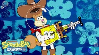 getlinkyoutube.com-SpongeBob SquarePants | Go Nuts for 'Squirrel Appreciation Day (Sandy Hotmix)' Sing-A-Long | Nick