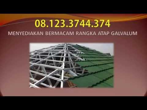 08.123.3744.374, baja ringan, jual baja ringan, rangka atap galvalum