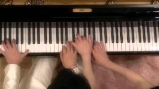 getlinkyoutube.com-四月は君の嘘 公生+凪ピアノ連弾曲 組曲《眠りの森の美女》より〈ワルツ〉