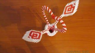 getlinkyoutube.com-3D Origami Heart Basket Tutorial #2