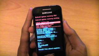 getlinkyoutube.com-How To Install Android 4.1.1 Jelly Bean On Samsung Galaxy Ace S5830i - Custom Rom JellyBlast V3