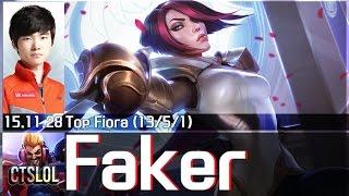 Faker - 費歐拉單場精華