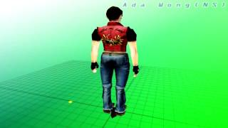 getlinkyoutube.com-Resident evil 2 mod Claire Redfield(Costumes Pack)#3