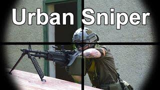 getlinkyoutube.com-Airsoft Sniper Gameplay - Scope Cam - Urban Sniper 2