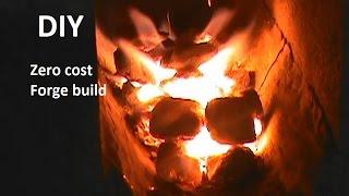 getlinkyoutube.com-DIY Build a forge for FREE
