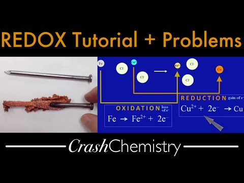REDOX reactions -- oxidation reduction -- what occurs during electron transfer