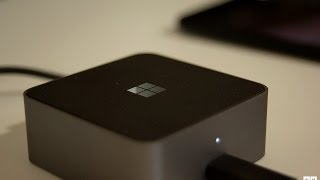 getlinkyoutube.com-Microsoft Display Dock Unboxing and an In-Depth Look at Continuum