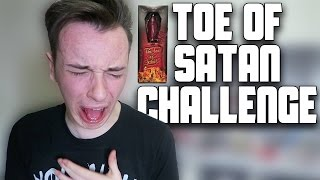 The Toe Of Satan Challenge (9 Million Scoville Units) | WheresMyChallenge