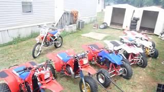 getlinkyoutube.com-Seven Honda 250R's