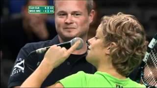 getlinkyoutube.com-لأعبه كرة المضرب  كيم كليسترز تتعرض للتحرش من مشجع