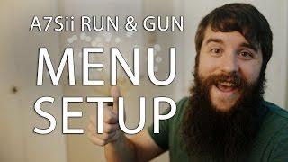 getlinkyoutube.com-Run & Gun filming with the Sony A7Sii Part 1: Menus
